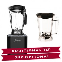 INTRODUCING THE OPTIMUM G2.6 PLANTINUM SERIES, OUR MOST POWERFUL  BLENDER TO DATE